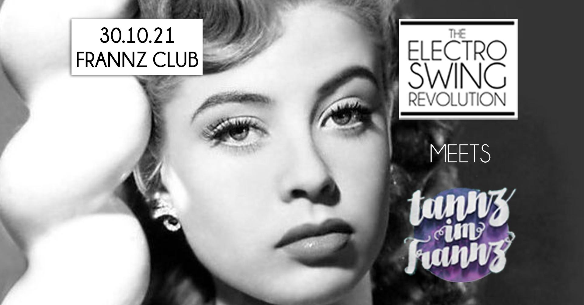 Electro Swing Revolution am 30.10.2021 @ FRANNZ CLUB BERLIN
