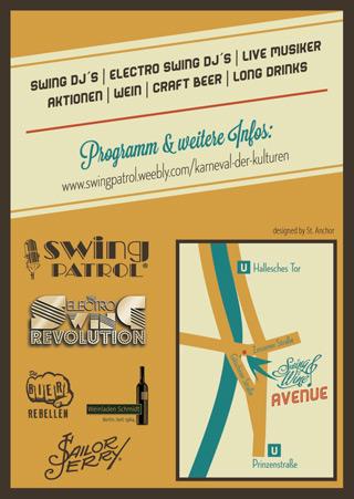 Electro Swing Revolution beim Karneval der Kulturen