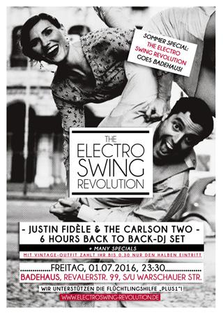 Electro Swing Revolution am 01.07.2016 @ ASTRA BERLIN