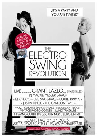 Electro Swing Revolution am 04.04.2015 @ ASTRA BERLIN
