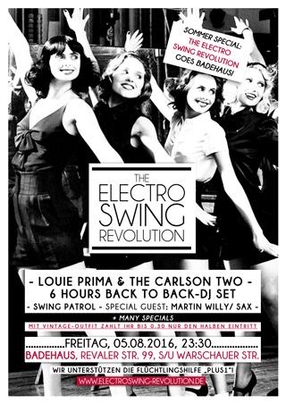 Electro Swing Revolution am 05.08.2016 @ ASTRA BERLIN