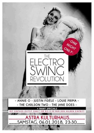 Electro Swing Revolution am 06.01.2018 @ ASTRA BERLIN