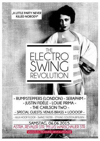 Electro Swing Revolution am 06.06.2015 @ ASTRA BERLIN