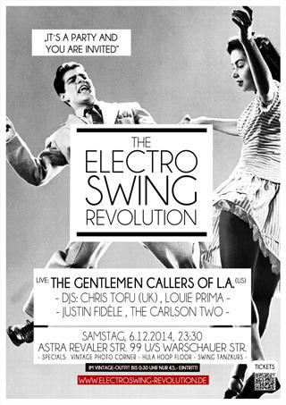 Electro Swing Revolution am 06.12.2014 @ ASTRA BERLIN