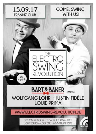 Electro Swing Revolution am 15.09.2017 @ FRANNZ CLUB BERLIN