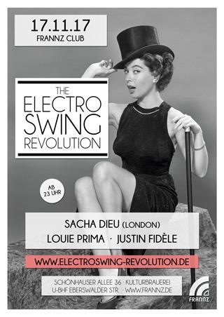 Electro Swing Revolution am 17.11.2017 @ FRANNZ CLUB BERLIN