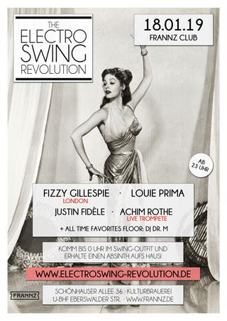 Electro Swing Revolution am 18.01.2019 @ FRANNZ CLUB BERLIN