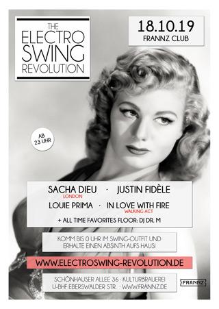 Electro Swing Revolution am 18.10.2019 @ FRANNZ CLUB BERLIN