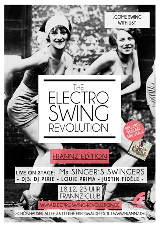 Electro Swing Revolution am 18.12.2015 @ FRANNZ CLUB BERLIN