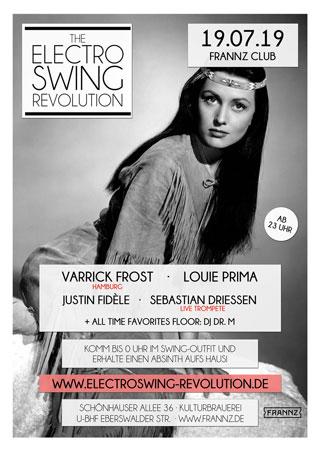 Electro Swing Revolution am 19.07.2019 @ FRANNZ CLUB BERLIN