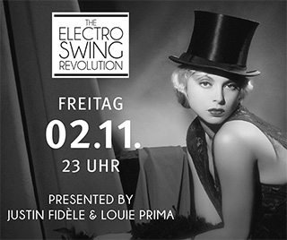 Electro Swing Revolution am 02.11.2018 @ HAMBURG