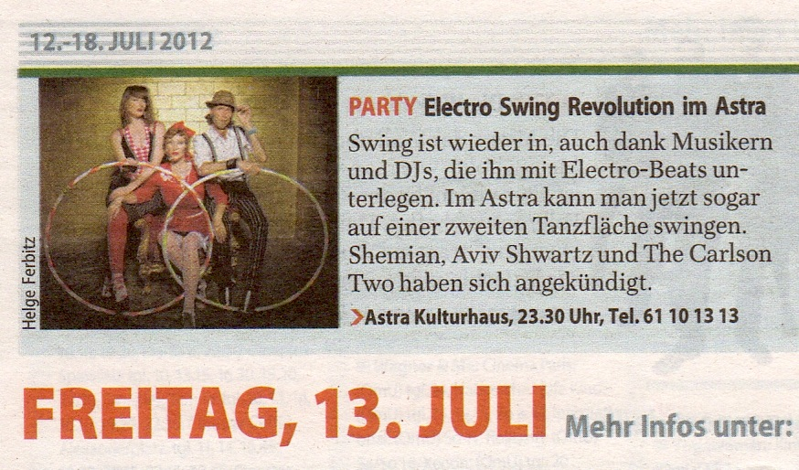 Electro swing leipzig 2018